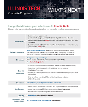 International GRAD WhatsNext (PDF)