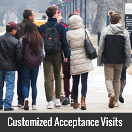 Customized Acceptance Visits